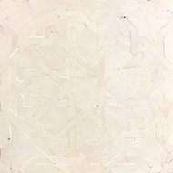 GRAND ANKABOUTI WHITE OUTLINE MOSAIC TILE