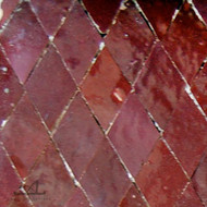 DIAMOND RED MOSAIC TILE