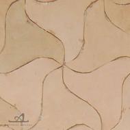 PINWHEELS NATURAL MOSAIC TILE
