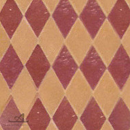 HARLEQUIN RED MOSAIC TILE