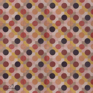 DOUBLE DOTTY RED CEMENT TILE