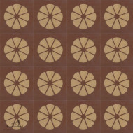 MANDARIN BROWN CEMENT TILE