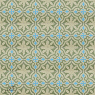 MEDALLION SAGE CEMENT TILE