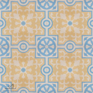 MEDIEVAL YELLOW CEMENT TILES