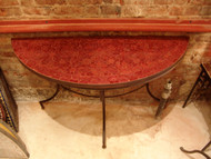 HALF ANKA RED TABLE