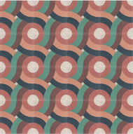 SWIRL CORAL CEMENT TILES