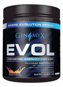 Genomyx EVOL Pre-Workout, Razonade (BLOWOUT Price!)