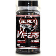 ASL Black Vipers; Rapid Fat Loss & Cutting Supplement.