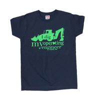 """I Dig my Operating Engineer"" Women's Crew Neck T-Shirt"