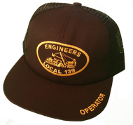 Black Mesh Trucker Hat