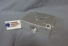 D05 hydraulic directional control valve sub plate #8 SAE Oring boss ports FREE SHIPPING
