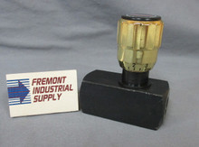 "(Qty of 1) Inline hydraulic needle valve 1/4"" NPT 5000 PSI"