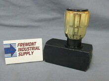 (Qty of 1) Inline hydraulic needle valve #6 SAE 5000 PSI