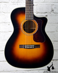 Guild OM-140CE Sunburst w/ Case