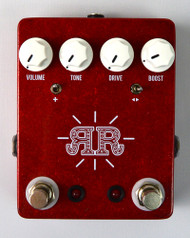 JHS Ruby Red Butch Walker Signature 2-in-1 Overdrive/Fuzz/Boost