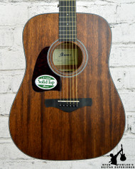 Ibanez AW54 Left Handed Open Pore Natural Acoustic