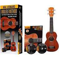 Hal Leonard Ukulele Starter Pack with Method Book/Online Audio and DVD