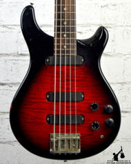1988 PRS Curly Bass 5 String Red Burst w/ OHSC
