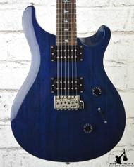 PRS SE Standard 24 Translucent Blue w/ Gig Bag