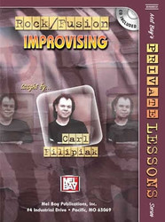 Rock/Fusion Improvising (Book/CD Set) by Carl Filipiak