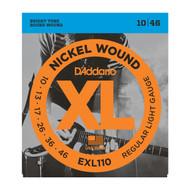 D'Addario EXL110 .010-.046 Reg Light