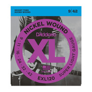 D'Addario EXL120 .009-.042 Super Light