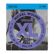 D'Addario EXL115 XL .011-.049 Med Elec
