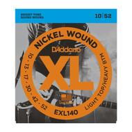 D'addario EXL140 Lite Top Hvy Bot  Elec