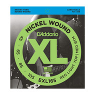 D'Addario Bass EXL165  45-105 Long Scale