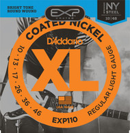 D'Addario EXP110 .010-.046 Coated Reg Light
