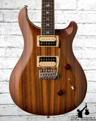 2018 PRS SE Custom 24 Exotic Top Zebra Wood