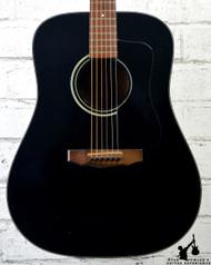 Vintage 1984 Guild D-25 Black