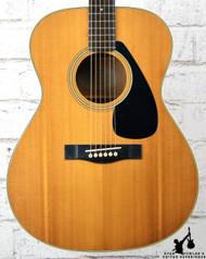 Yamaha SJ-180 Acoustic Guitar Natural
