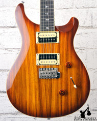 2018 PRS Custom 24 Exotic Top Zebra Wood Vintage Sunburst (#6212)