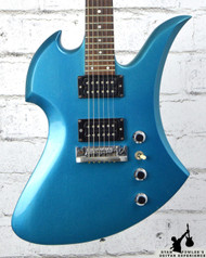 1980's BC Rich Mockingbird Metallic Blue w/ Gig Bag