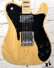 2011 Fender 75 Block Telecaster Custom Natural Tele-Bration Limited Edition