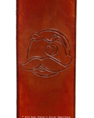 Redbeard Brown Boh Guitar/Bass Strap