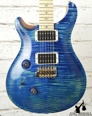 PRS Custom 24 Lefty Custom Color River Blue w/ Case