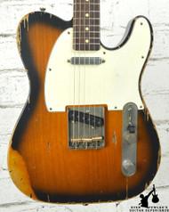 Nash T63 2 Tone Sunburst, Lollars, Med Relic
