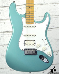 1997 Fender Lone Star Stratocaster Teal w/ Bag