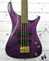 Brubaker Lexa Prototype Bass Purple w/ Gig Bag
