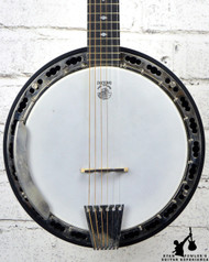 Deering USA D-6 6 String Banjo w/ OHSC