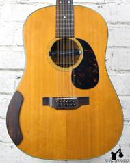 1970 Martin D12-20 12 String w/ HSC