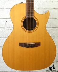 Guild USA CV1C Acoustic Electric Guitar Natural w/ OHSC