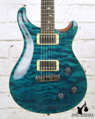 20th Anniversary PRS Custom 22 10 Top Quilt Blue Matteo w/ OHSC