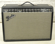 Fender '65 Deluxe Reverb Combo Amp w/ Cover & Footswitch