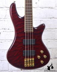 Schecter Elite 4 Bass Trans Red w/ HSC