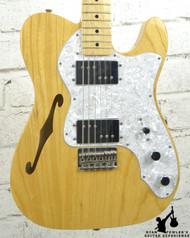 2011 Fender Classic Series 72 Tele Thinline Natural w/ Bag