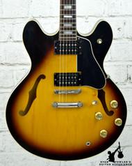 Vintage 1974 Gibson ES-335TD Sunburst w/ Case