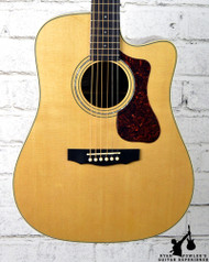 Guild Westerly Collection D-140CE Natural w/ Case